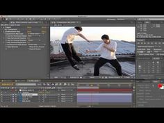 Super Slow Motion using Puppet Warp in After Effect - YouTube