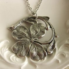 Hey, I found this really awesome Etsy listing at https://www.etsy.com/au/listing/159630442/four-leaf-clover-shamrock-necklace-best