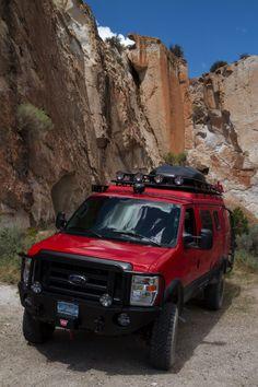 6x6 Truck, Truck Camper, Camper Van, Off Road Rv, Off Road Trailer, Ambulance, Lifted Van, Ford E250, 4x4 Van