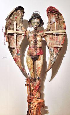Jason Robert Griego  bone and resin  #sofa