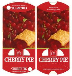 The old McDonald's pies....when they were fried and you could still get cherry.