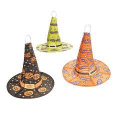 Witch Hat Lanterns - OrientalTrading.com