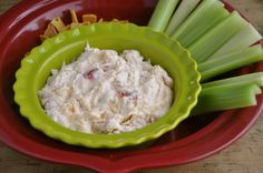 Artichoke and roasted red pepper dip in a crock pot. What?!
