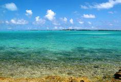 Beautiful blue water...