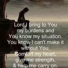 God is with me and I find my strength in you Thank you for loving me, there are no riches here on earth I seek, my reward waits in Heaven. I wait upon your return Jesus