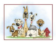 Simply Shelly Designs: Gone to the Dogs!