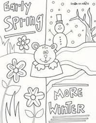 Groundhog Coloring Pages Holiday Coloring Pages