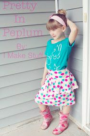 Alida Makes: Pretty In Peplum Skirt Tutorial