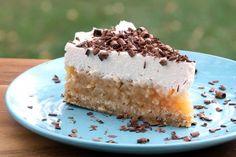 Nepečená jablkovo - smotanová torta - recept No Bake Desserts, Dessert Recipes, Oreos, Vanilla Cake, Tiramisu, Cheesecake, Baking, Ethnic Recipes, Food