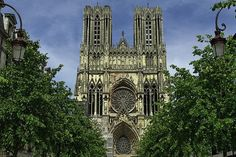 Reims. Champagne-Ardenne, France.