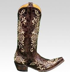 Old Gringo Boots. Cute for fall.
