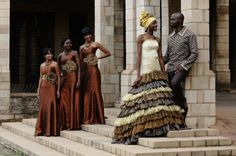 tribal green and brown wedding dresses - Google Search