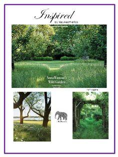 Captured by KeyAesthetics | Anna Wintour's Garden via T Magazine