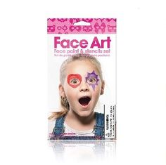 Face Art Girls Face Paint Set $8.95  #sweetcreations #baby #toddlers #kids #artcrafts #paint #stamp #creative #artistic