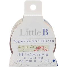 Little B Antique Postmark Washi Tape 25 mm