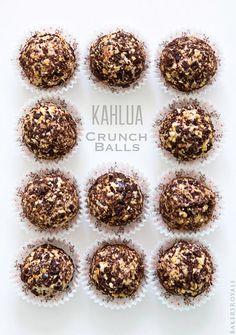 Kahlua Crunch Balls #recipe