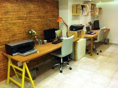 home office e sala - Pesquisa Google