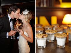 milk and cookies at the reception!