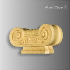 Polyurethane faux wood corbels are decorative accents that add a classic aesthetic to interiors decor.