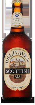 Cerveja Belhaven Scottish Ale, estilo Scottish, produzida por Belhaven Brewery, Escócia. 5.2% ABV de álcool.