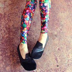 Candy Leggings  | Black Milk Clothing and platforms