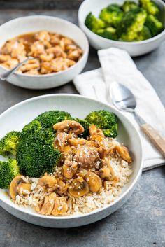 I Love Food, Good Food, Yummy Food, Healthy Snacks, Healthy Recipes, Broccoli Pasta, Daily Meals, Easy Dinner Recipes, Chicken Recipes