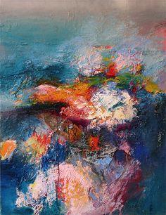 "Gerard Stricher ""Soir d'Hiver"" Oil on canvas. 116x89 cm. February 2012"