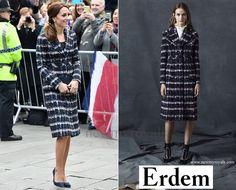14 October 2016 - Kate style: ERDEM