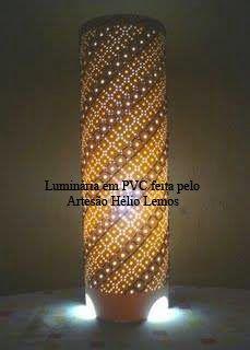Ju Luminárias - Luminárias em PVC: Moldes à venda