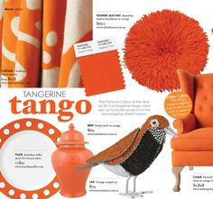 Tangerine tango product page as featured in Feb/Mar 2012 edition of Adore Home magazine www.adoremagazine.com