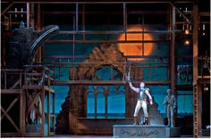 The Pirates of Penzance. Stratford Shakespeare Festival. Scenic design by Anna Louizos. 2012