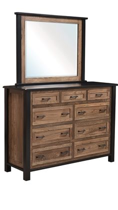 Mission Furniture, Amish Furniture, Classic Furniture, Fine Furniture, Bedroom Furniture, Classic Home Decor, Classic Interior, Chair Design Wooden, Beveled Mirror