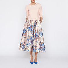 Kenton Emilia Print Skirt | Clothing | New Arrivals | Collections | L.K.Bennett, London