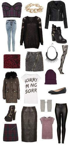 Autumn / Winter '13 Fashion Trends: Modern #punk