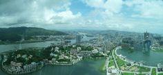 Panorámakép a Makaó Toronyból