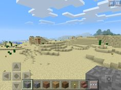 Explore and loot THREE desert temples together in this seed for Minecraft Pocket Edition Minecraft Pe Seeds, Desert Temple, Temples, Mount Rushmore, Deserts, Games, Travel, Viajes, Postres