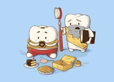 My Sweet Tooth Never Listens to My Wisdom Tooth: luckily, I no longer possess wisdom teeth.