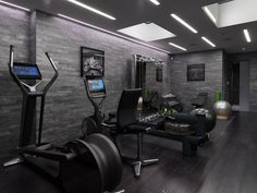 Modern Home Gym Design -