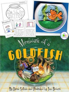 Memoirs of a Goldfish writing and craftivity