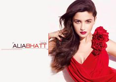 Bold and sexy Alia Bhatt in red dress hd pics