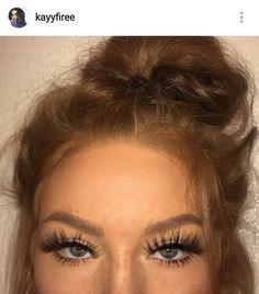 grafika eyes, girl, and make up Longer Eyelashes, Long Lashes, False Lashes, Permanent Eyelashes, Applying Fake Eyelashes, Natural Fake Eyelashes, Beauty Makeup, Eye Makeup, Hair Makeup