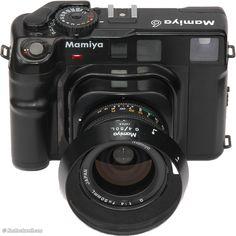 Mamiya 6 (medium format range-finder 6x6) with 3 interchangeable lenses