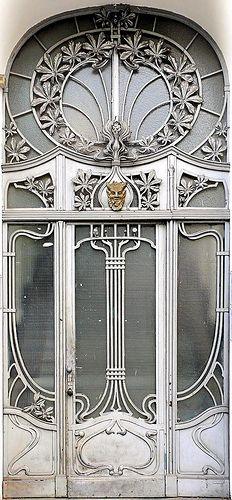 Berlin - Jugendstil 006 | Explore Arnim Schulz's photos on F… | Flickr - Photo Sharing! Art Nouveau Door