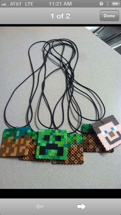 Mine craft party favors