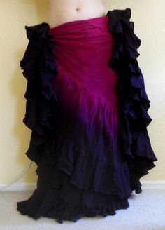 """""""Rhapsody"""" Gothica 25 Yard Skirt  You can order yours here:  http://www.paintedladyemporium.com/Shop-Here.html"""