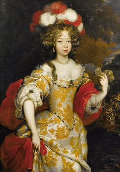 Hortense Mancini Duchess of Mazarin (1646-1699) favourite niece of Cardinal Mazarin and a mistress of Charles II, King of England, Scotland and Ireland.