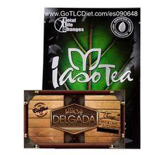 Image of Iaso Tea and Slimming Coffee kit