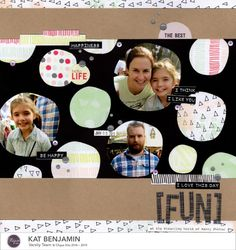 Geek Lab | Scrapbook layout made with my Silhouette
