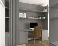Blanco Interiores Home Office, Home