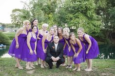 Groom & Bridesmaids